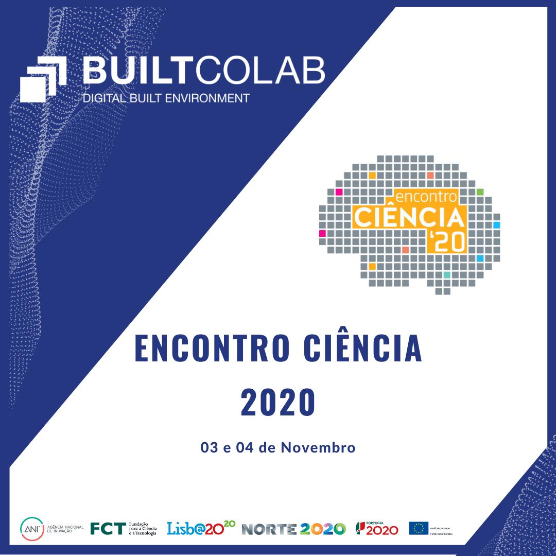 BUILT CoLAB participou no Encontro Ciência 2020