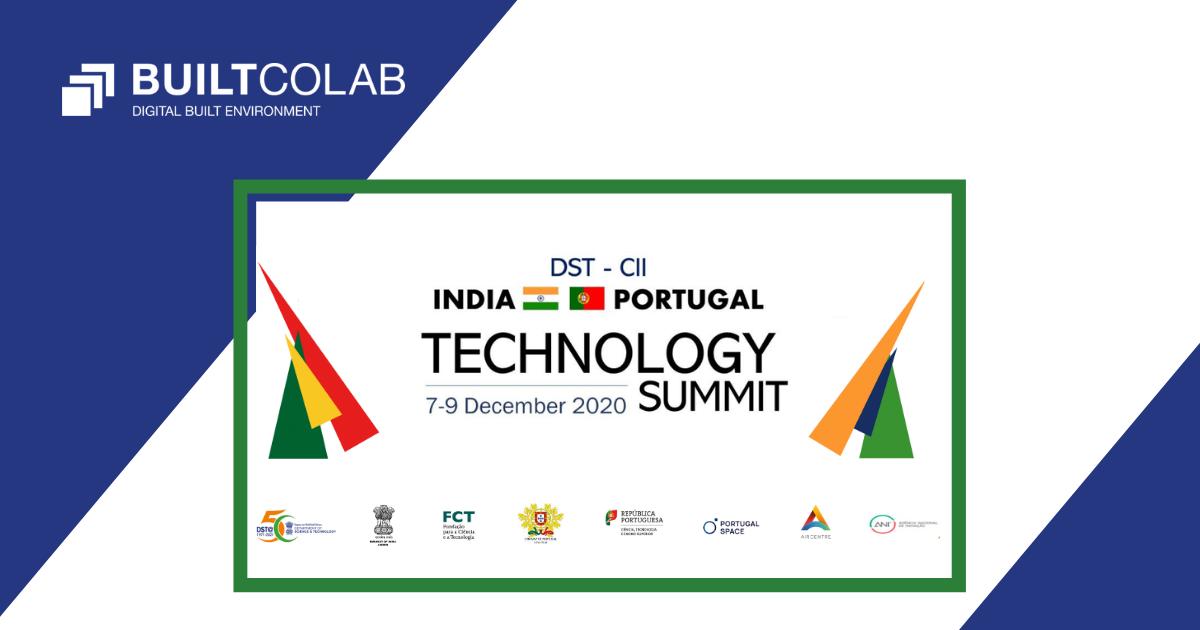BUILT CoLAB na Cimeira Tecnológica Portugal India
