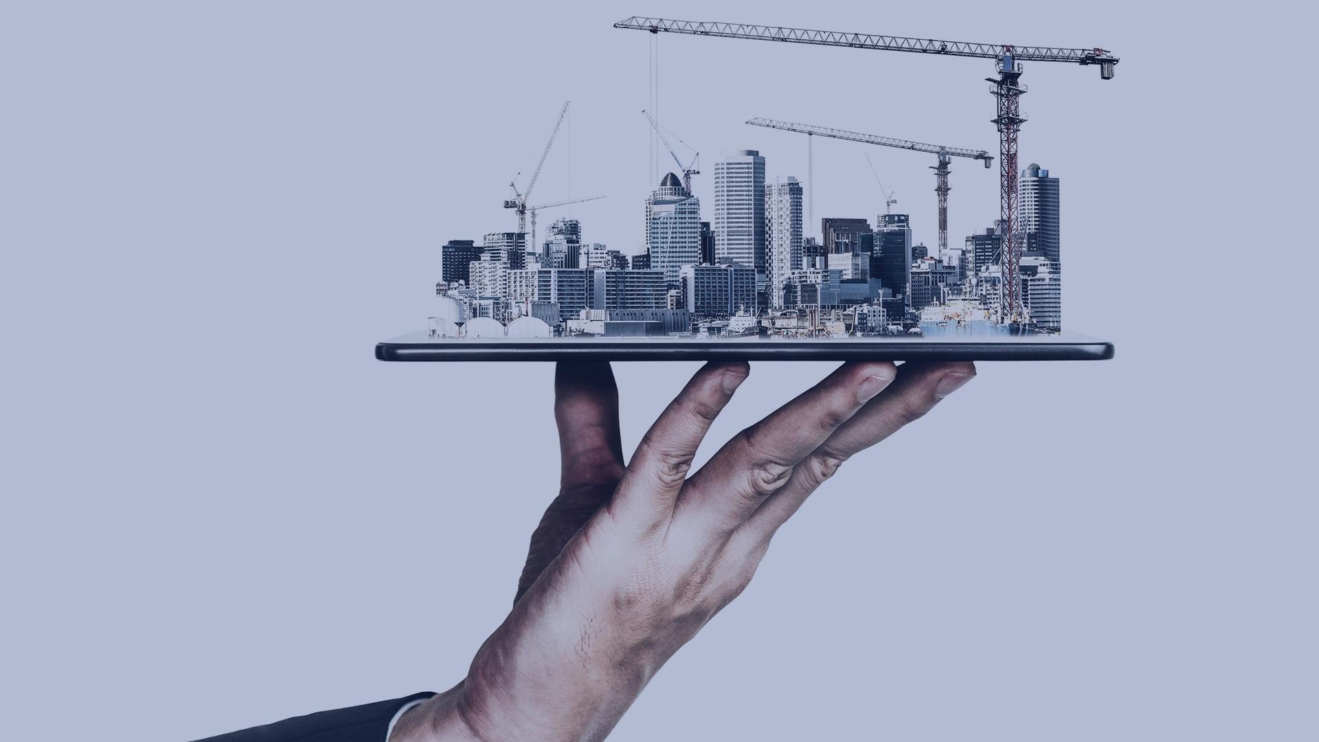 otimização da digitalização para a construção com a solução AUTOMATION do BUILT CoLAB