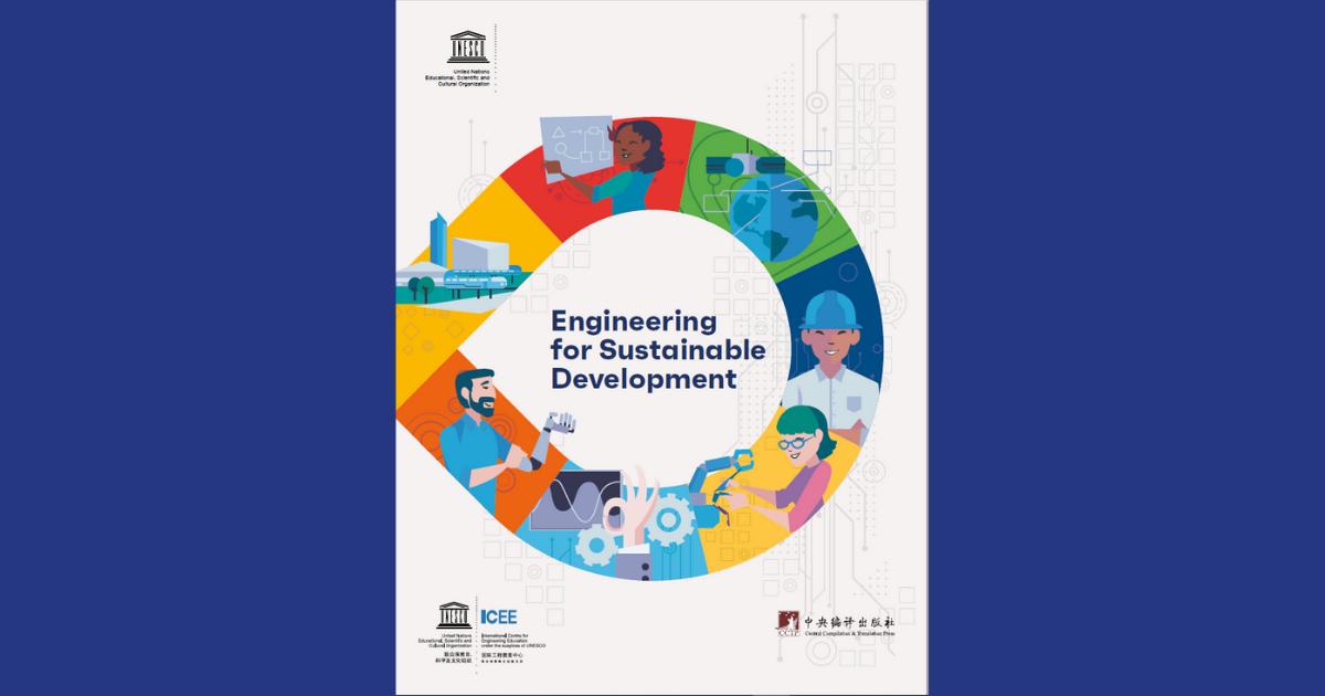 Capa do 2º Relatório de Engenharia publicado pela UNESCO