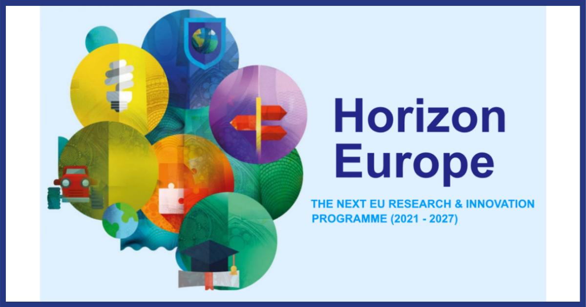 Logo Horizonte Europa