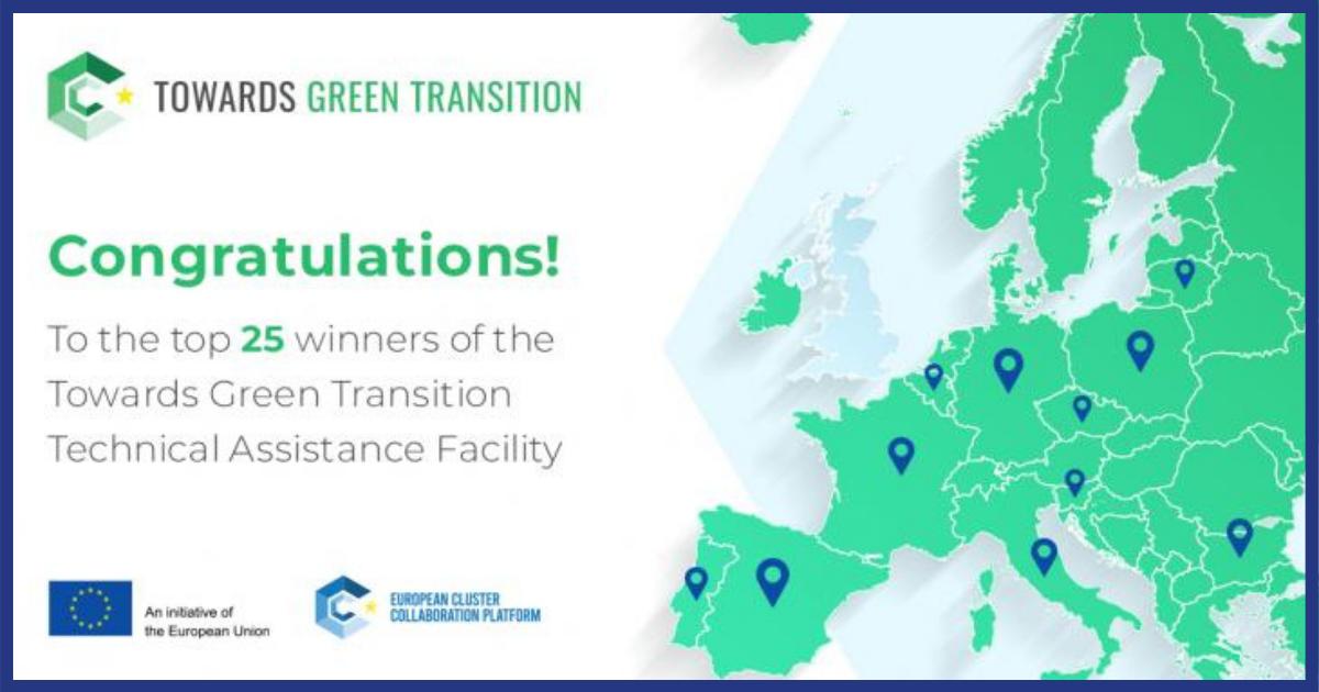 Cluster AEC selecionado para o Towards Green Facility
