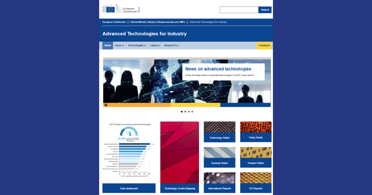 projeto Advanced Technologies for Industry
