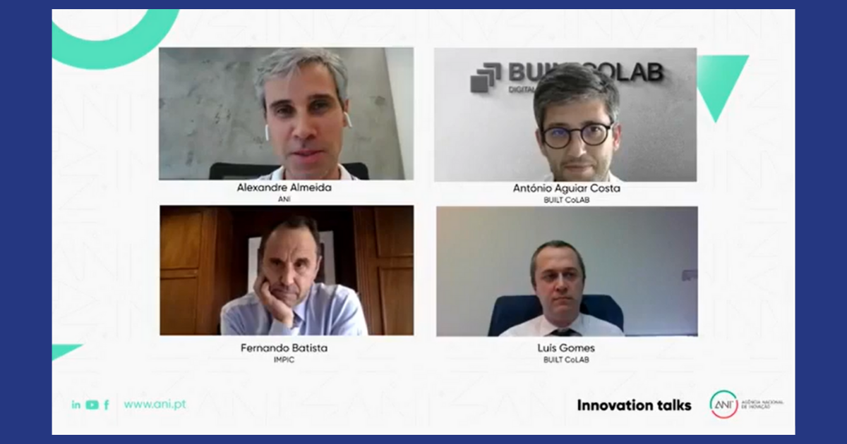 Painel da Innovation Talk setor aEC