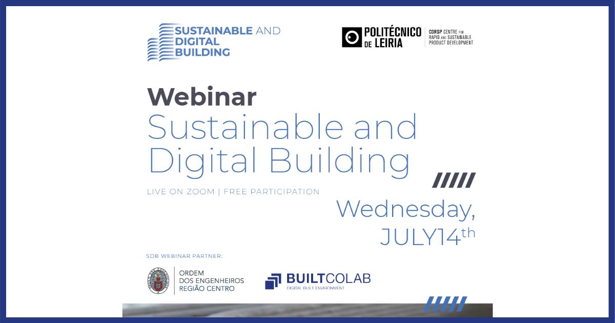 "Webinar ""Sustainable and Digital Building"""
